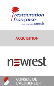 2017 Restauration francaise acquisition Newrest conseil de l acquereur STANCE
